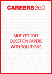 MHT CET 2017 Question Paper with solutions