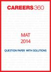 MAT 2014 Question Paper