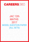 JAC 12th Maths 2017 Model Question Papers