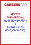 AP ECET 2019 Official Question Papers and Answer Keys (CHE, CIV & CSE)