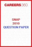 SNAP 2010 Question Paper