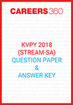 KVPY 2018 Question Papers for SA Stream