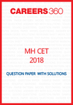 MH CET 2018 Question Paper with solutions