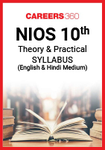 NIOS Class 10 Theory and Practical Syllabus
