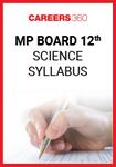 MP Board 12th Science Syllabus