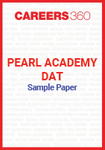 Pearl Academy DAT sample paper