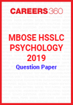 MBOSE HSSLC Psychology 2019 Question Papers
