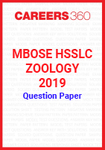 MBOSE HSSLC Zoology 2019 Question Papers