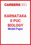 Karnataka II PUC Biology Model Paper