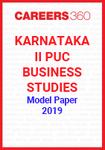 Karnataka II PUC Business Studies Model Paper 2019