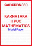 Karnataka II PUC Mathematics Model Paper