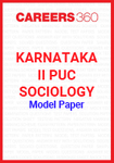 Karnataka II PUC Sociology Model Paper