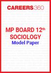 MP Board 12th Sociology Model Paper