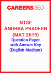 NTSE Andhra Pradesh (MAT 2019) Question Paper with Answer Key (English Medium)