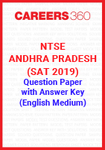 NTSE Andhra Pradesh (SAT 2019) Question Paper with Answer Key (English Medium)