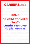 NMMS Andhra Pradesh (Set-C) Question Paper 2019 (English Medium)