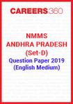 NMMS Andhra Pradesh (Set-D) Question Paper 2019 (English Medium)