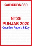 NTSE Punjab 2020 Question Papers & Key