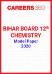 Bihar Board 12th Chemistry Model Paper 2020