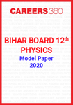 Bihar Board 12th Physics Model Paper 2020
