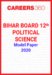 Bihar Board 12th Political Science Model Paper 2020