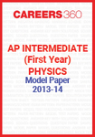 AP Intermediate (First year) Physics Model Paper 2013-14