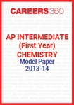 AP Intermediate (First year) Chemistry Model Paper 2013-14