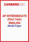 AP Intermediate (First year) English Model Paper