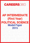 AP Intermediate (First year) Political Science Model Paper 2015