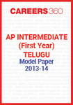 AP Intermediate (First year) Telugu Model Paper 2013-14