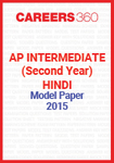 AP Intermediate (Second year) Hindi Model Paper 2015