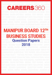 Manipur Board 12th Business Studies Question Papers 2018