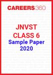 JNVST Class 6 Sample Paper 2020