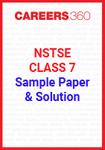 NSTSE Class 7 Sample Paper and Solution