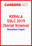 Kerala SSLC 2019 (Social Science) Question Paper