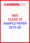 NSO Class 10 Sample Paper 2019-20