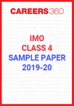 IMO Class 4 Sample Paper 2019-20