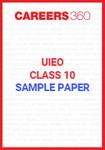 UIEO Class 10 Sample Paper