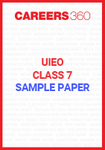 UIEO Class 7 Sample Paper