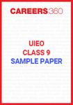 UIEO Class 9 Sample Paper