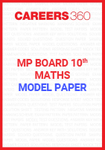 MP board 10th Maths Model Paper