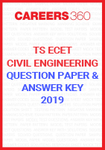 TS ECET Question Paper and Answer Key Civil Engineering 2019