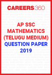 AP SSC Mathematics (Telugu Medium) Question Paper 2019