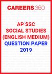 AP SSC Social Studies (English Medium) Question Paper 2019