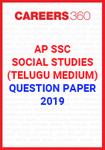 AP SSC Social Studies (Telugu Medium) Question Paper 2019