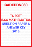 TS ECET Question Paper and Answer Key BSc Mathematics 2019