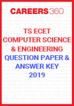 TS ECET Question Paper and Answer Key Computer Science and Engineering 2019