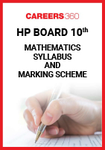 HP Board 10th Mathematics Syllabus & Marking Scheme 2020