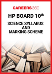 HP Board 10th Science Syllabus & Marking Scheme 2020