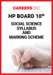 HP Board 10th Social Science Syllabus & Marking Scheme 2020